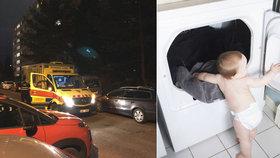 Hororová smrt chlapečka (†3) ve Strašnicích: Zemřel v sušičce na prádlo!