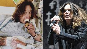 Ozzy Osbourne (69) skončil kvůli palci uprostřed turné v nemocnici
