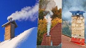 Předpověď počasí podle kouře! Mrkněte na sousedův komín a máte jasno, jak bude