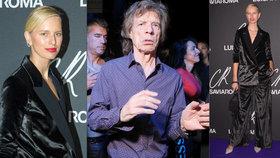 Karolína Kurková vyrazila nenalíčená do společnosti: Pařila s Mickem Jaggerem!