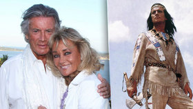 Kolik bral Pierre Brice za Vinnetoua? Vdova odkryla tajemství po letech!