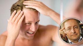 Počítáte s hrůzou každý vlas? 5 mýtů o plešatosti podle dermatologa