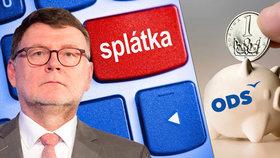 Bratr šéfa poslanců ODS dluží miliony. Pomohl Stanjura stranické kase?