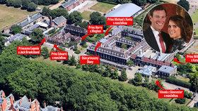 Svatba princezny Eugenie: Dostanou dům naproti Harrymu s Meghan!
