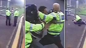 Násilník strčil policistu do silnice. Ten jenom o vlásek unikl smrti!