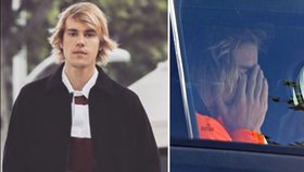 Justin Bieber plakal v autě! Bylo to snad kvůli Seleně?