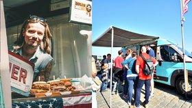 Amerika, svoboda a vášeň pro vaření: Erik (41) obráží republiku ve foodtrucku, jeho burgery jsou vyhlášené