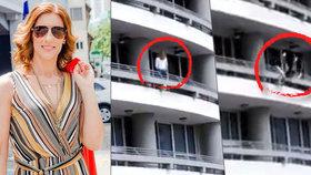 Dvě děti přišly o mámu. Sandra (†27) fotila selfie na balkoně v 27. patře