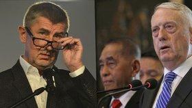 Na vojenskou přehlídku do Česka přiletí americký ministr. Čeká ho i Babiš