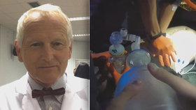 Profesor Pirk (70) přes 40 let léčí v IKEM lidská srdce. Připomněl důležitost včasné resuscitace
