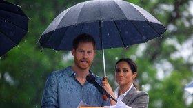 Harrymu se nedaří: Už podruhé ho musela zachraňovat těhotná Meghan!
