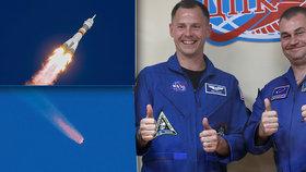 Žádná sabotáž: Za nezdařeným letem Sojuzu je špatně smontovaná nosná raketa