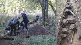 Zničený komunistický lágr vydává svědectví: Archeologové zkoumají zahlazený tábor Nikolaj