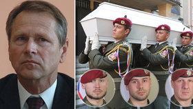 """""""Je to jako chytit Usámu bin Ládina."""" Generál promluvil o české pomstě za smrt vojáků"""
