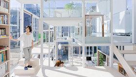Průhledný dům v Japonsku. Dokázali byste v něm žít?