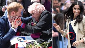 Tajemství Harryho černého prstenu a Meghanina náhrdelníku z těstovin