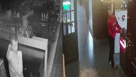 Mladík okradl kuchaře. Z holešovické restaurace si odnesl sadu profinožů, policie po něm pátrá