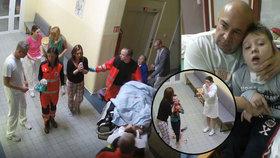 Adámkovy rodiče vedli na místo, kde syn krvácel! Místo omluv je čekal šok