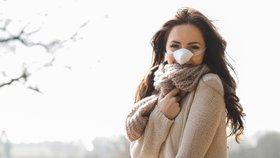 Nový módní doplněk pro věčné zmrzlíky: Návleky na nos!