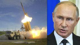 Putin vrací Trumpovi úder: Od odzbrojovací smlouvy odstupuje i Rusko. A rovnou chystá nové rakety