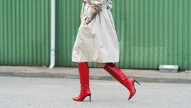 Barevné boty zaženou podzimní nudu v šatníku! Kde je koupíte a za kolik  cf3a28abb9