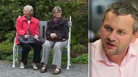 """Každý rok přibude 60 tisíc seniorů. """"Města stárnutí nezvládnou,"""" varuje expert"""