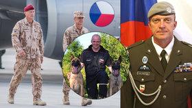 V Afghánistánu padl táta dvou dětí Tomáš (†42). Na korbě měl i svého psa