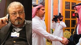 Prsty novináře poslali jako trofej korunnímu princi. Ten přijal syna zavražděného