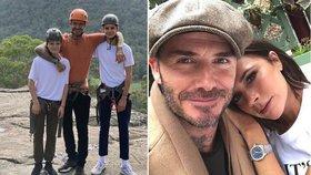 Beckhamová po prasknutí krize s Davidem začala jednat! Fotky jako důkaz