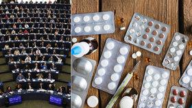 Část antibiotik bude jen pro lidi? Europarlament brojí i proti odolné salmonele