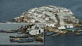 Poněkud přeplněný ostrov: 500 obyvatel žije na půlce fotbalového hřiště!