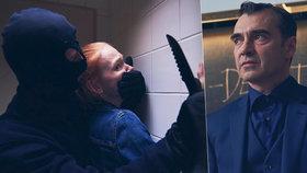Nový seriál Profesor T.: Brutální znásilnění dívky přímo na záchodě!