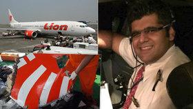 Může za pád letadla se 189 lidmi pilot, nebo technika? Stroj měl před startem závadu