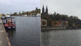 Pod Vyšehrad se vrací »Šemík«: Vltavu bude brázdit přívoz s legendárním jménem