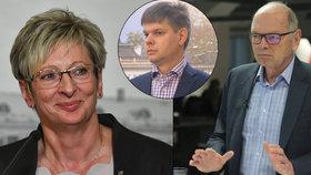 """Pilný má zas napilno. Exministr má místo Senátu """"flek"""" u kolegyně z televize"""