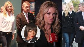Monika Babišová, Emmanuel Macron a její džíny burcují vášně: Okatý atak luxusu a živočišnost k diskusi
