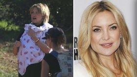 Kate Hudson tři týdny po porodu na veřejnosti i s miminkem: Hurá na nákupy!
