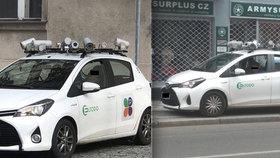 Malér monitorovacích aut: Sama předpisy porušují! Vůz s kamerami parkoval na chodníku i místě pro invalidy