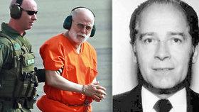 Mrzačil a zabíjel nepohodlné. Obávaného kápa mafie našli mrtvého ve vězení v USA