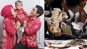 Nejmladší obětí 15měsíční holčička. Záchranáři našli trup letadla se 189 lidmi
