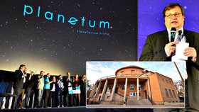 Praha má novou vesmírnou instituci Planetum: Chceme lidi více bavit, sdělil ředitel Rozehnal