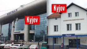 Osudová záměna: Mladík chtěl jet do Kyjeva, vlak ho ale přivezl do Kyjova