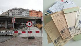 """Dokumenty k mostu u Vltavské se """"nezašantročily"""", vyvrací nařčení TSK. Foto jako důkaz"""