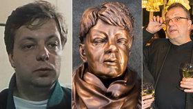 Šteindler o zpackané soše Špinarové: Konečně mi někdo udělal sochu