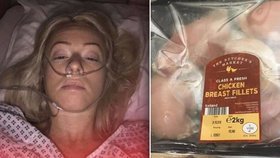 Zkažené maso ze supermarketu jí způsobilo vnitřní krvácení: Bolest musela tišit morfiem