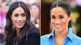 Vyzkoušejte účesy krásné Meghan: Vlasy rovná keratinem, pak už stačí jednoduchá úprava!