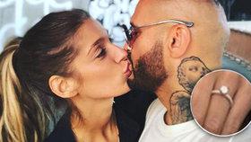 Zásnuby Rytmuse s Jasminou: Novináři ukázali prsten zlatníkovi a přišel šok!