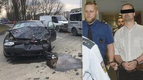 Opilý řidič zabil dvě malé děti! Josef (38) to popíral, soud mu zvýšil trest
