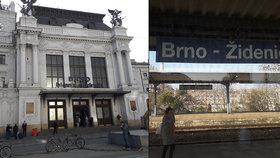 Dopravní peklo i s očistcem: Brno zavře část hlavního nádraží, vlaky budou končit v Židenicích