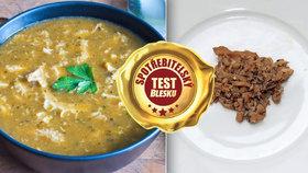 Test dršťkových polévek: Jednu uvařili hlavně z vody a kůží! Které jsou skutečně z drštěk?